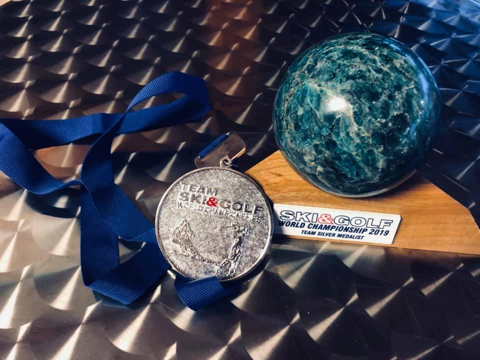 Vlastík Štefl vybojoval stříbro a 4.místo v Mistrovství světa Ski&Golf{lang}