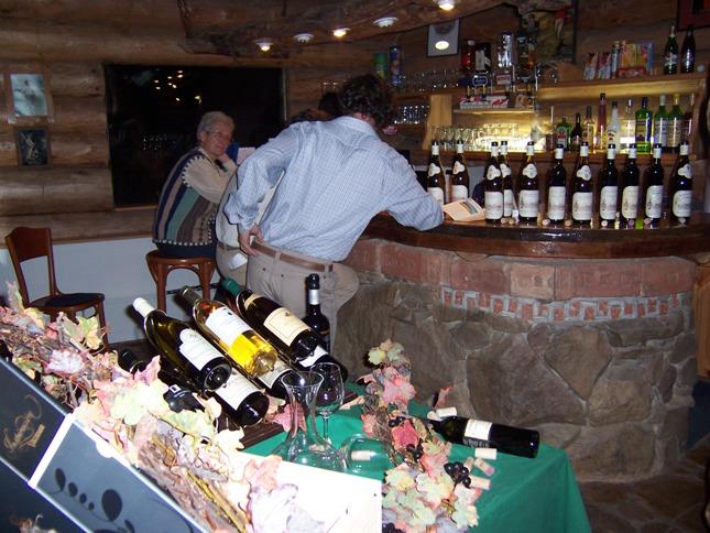 Lobby spike bar