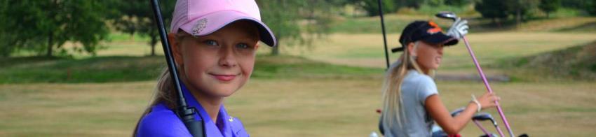 Mladé golfistky