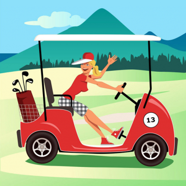 Dámské odpoledne s golfem